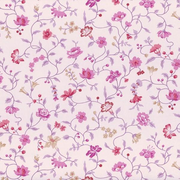 rasch textil vintage diary wallpaper 255194 flowers vine. Black Bedroom Furniture Sets. Home Design Ideas