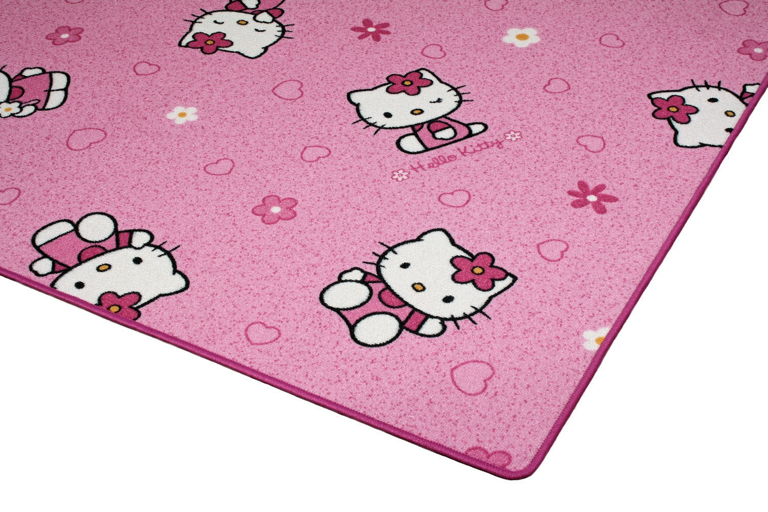 sanrio hello kitty carpet rug kids carpet rug play. Black Bedroom Furniture Sets. Home Design Ideas