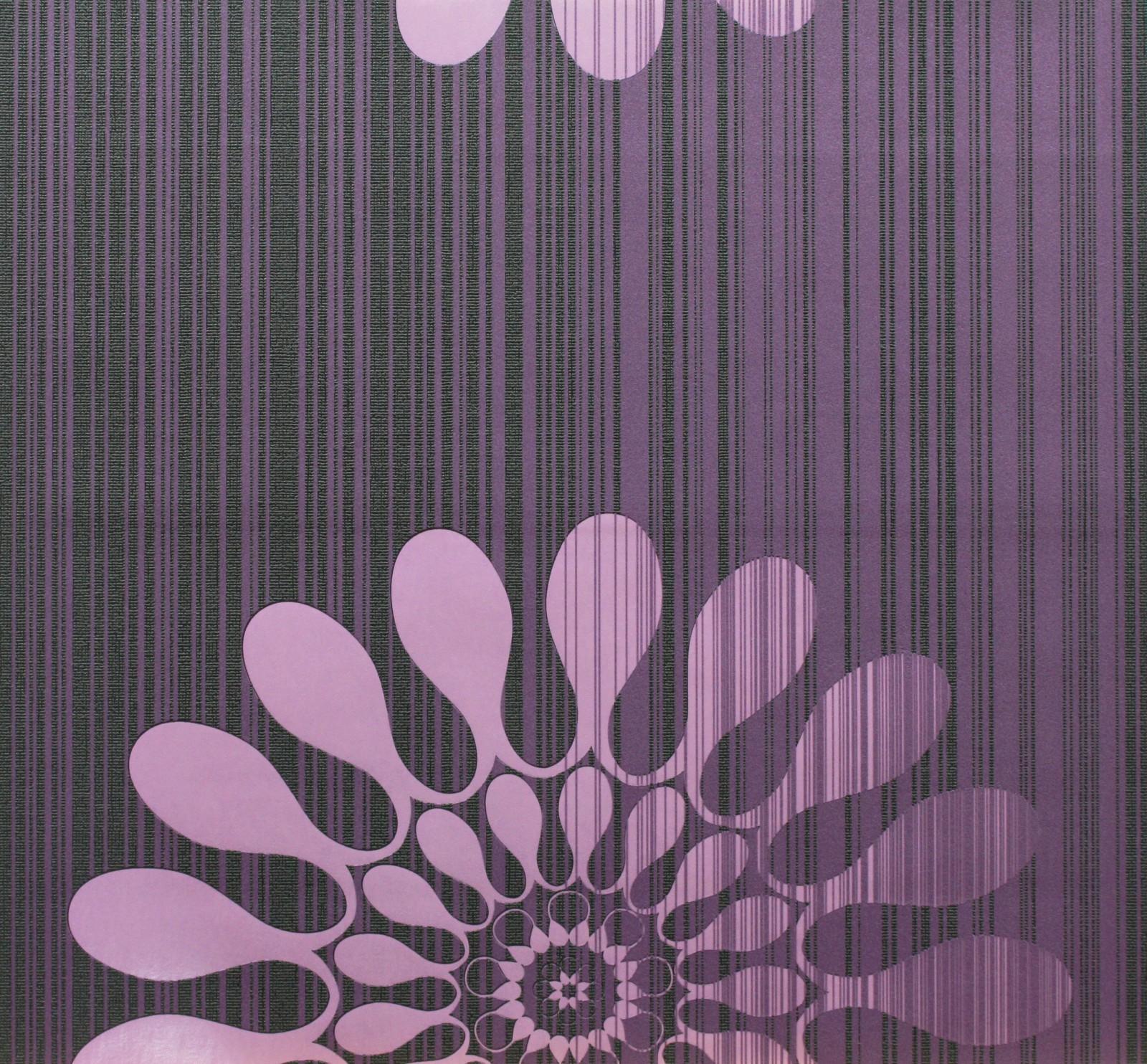 Retro Purple Wallpaper Marburg 51554 Retro Purple