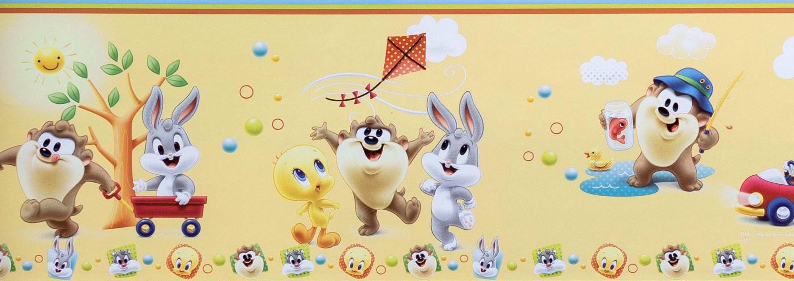 Baby looney tunes wallpaper border - photo#1