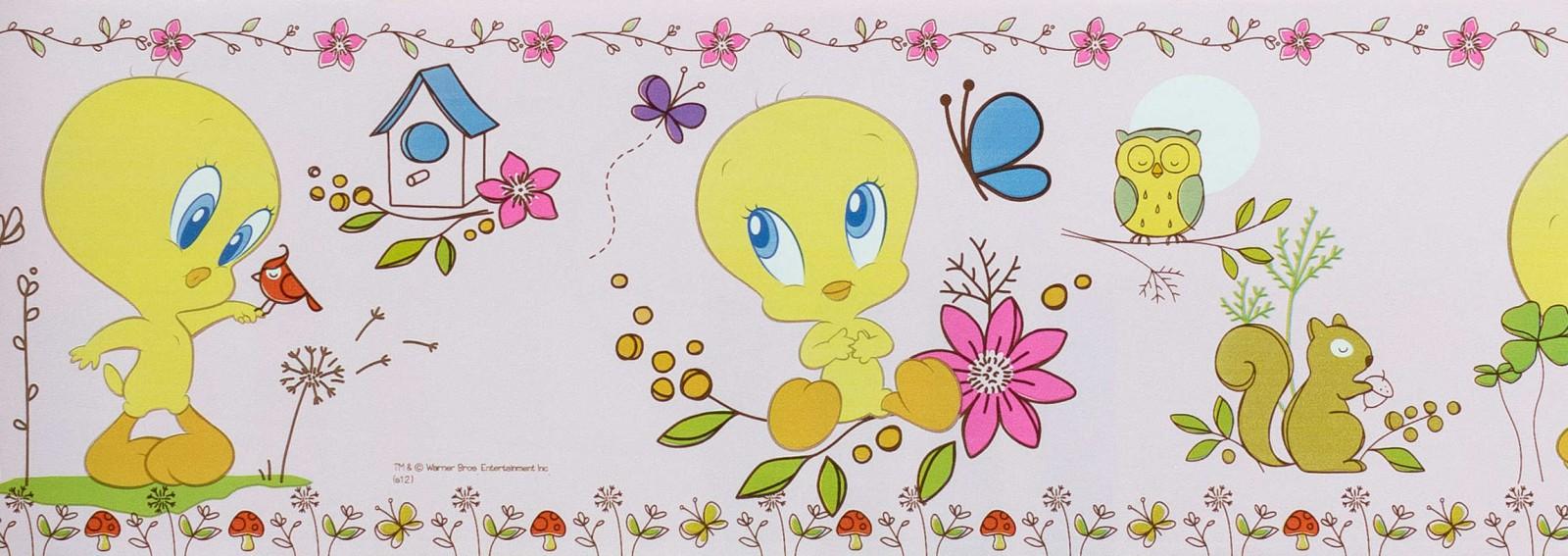 Baby looney tunes wallpaper border - photo#14