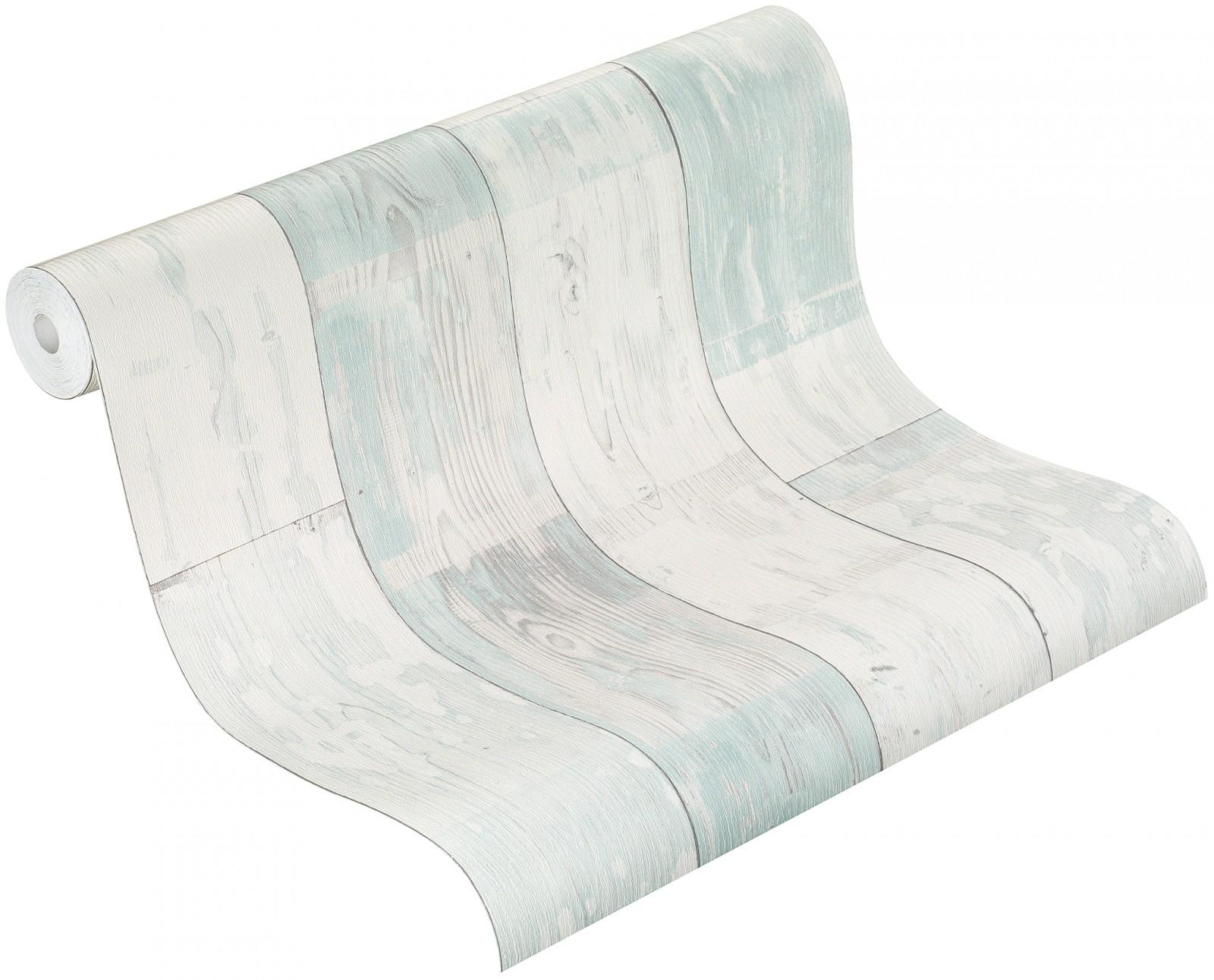 rasch vliestapete 587135 bestseller holz optik creme wei t rkis tapeten marken billigerluxus. Black Bedroom Furniture Sets. Home Design Ideas