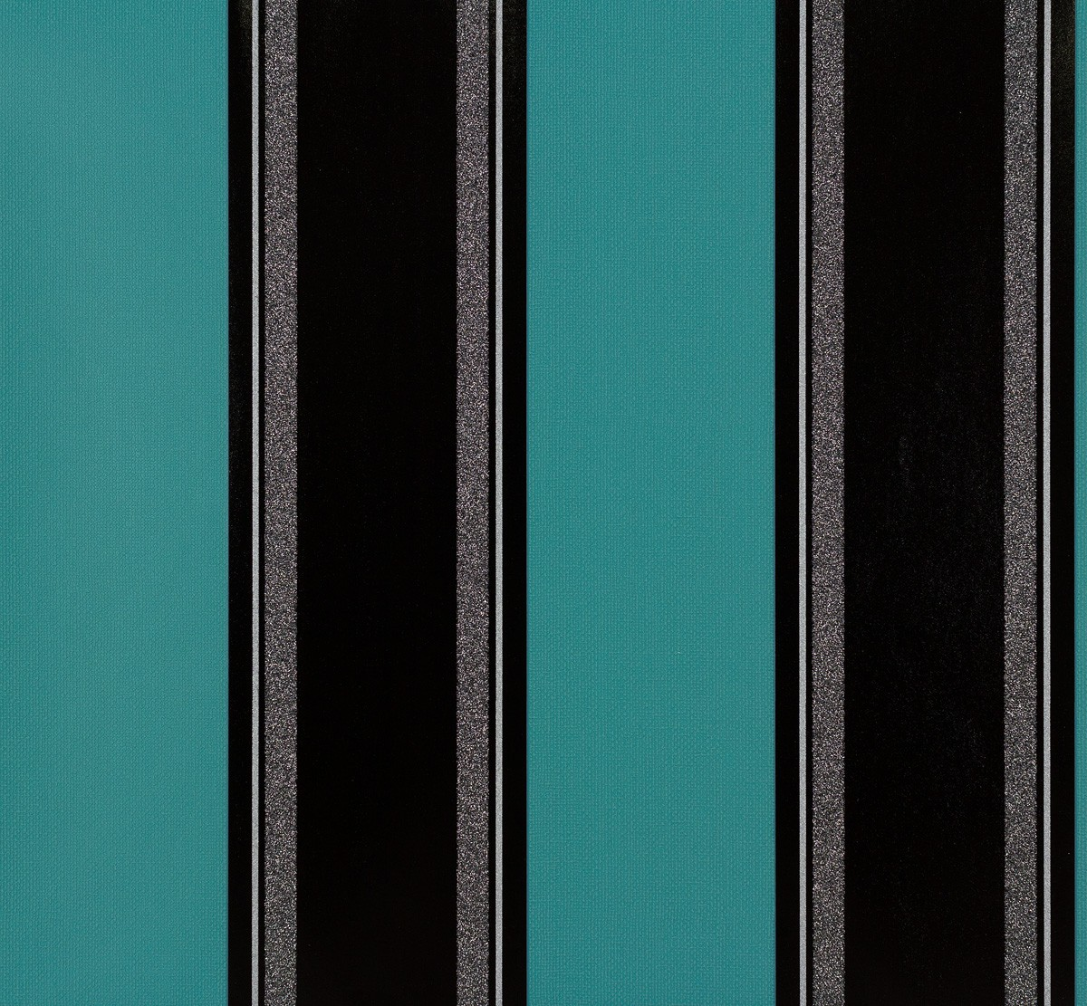 wallpaper striped turquoise black livingwalls 95704 3. Black Bedroom Furniture Sets. Home Design Ideas