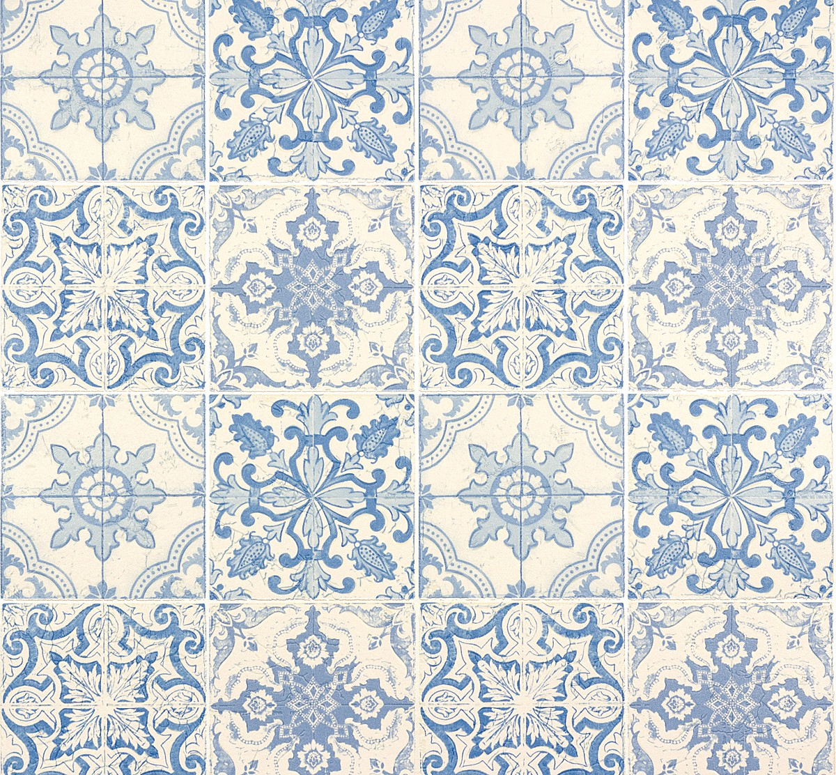 Wallpaper white tiles faro as creation 30042 2 for Vintage tapete