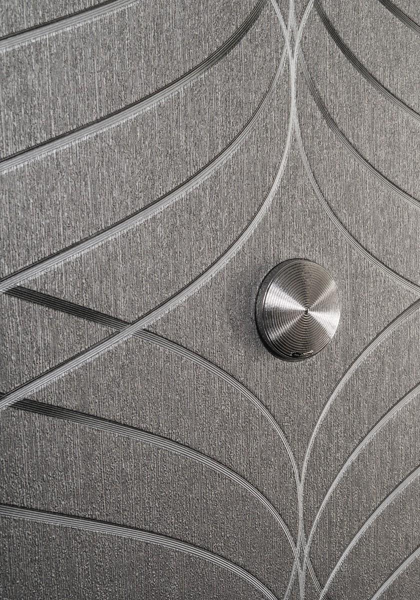 wallpaper colani evolution marburg wave black 56332. Black Bedroom Furniture Sets. Home Design Ideas