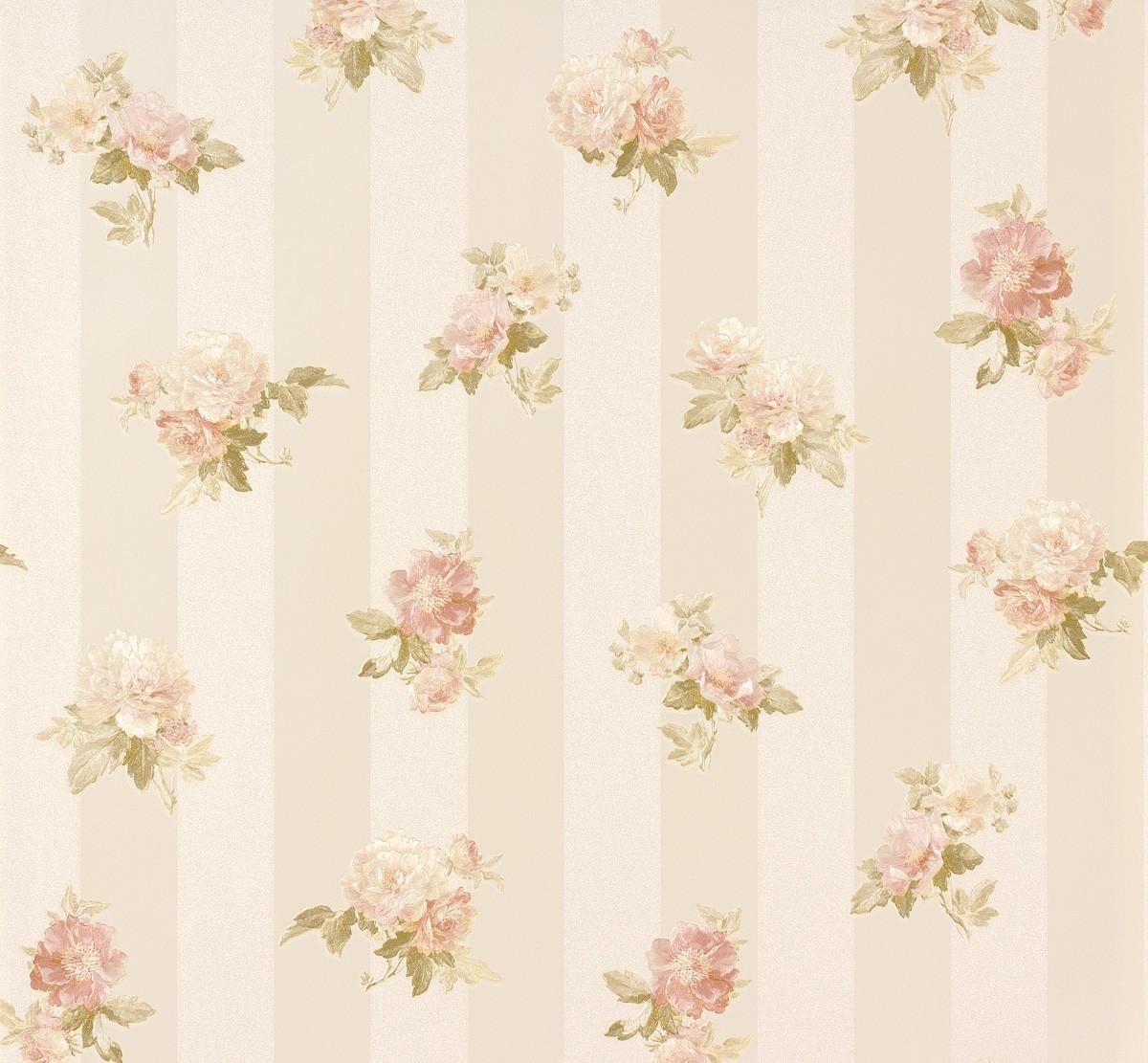 Wallpaper romantica flower cream rose as 30447 1 for Cream rose wallpaper