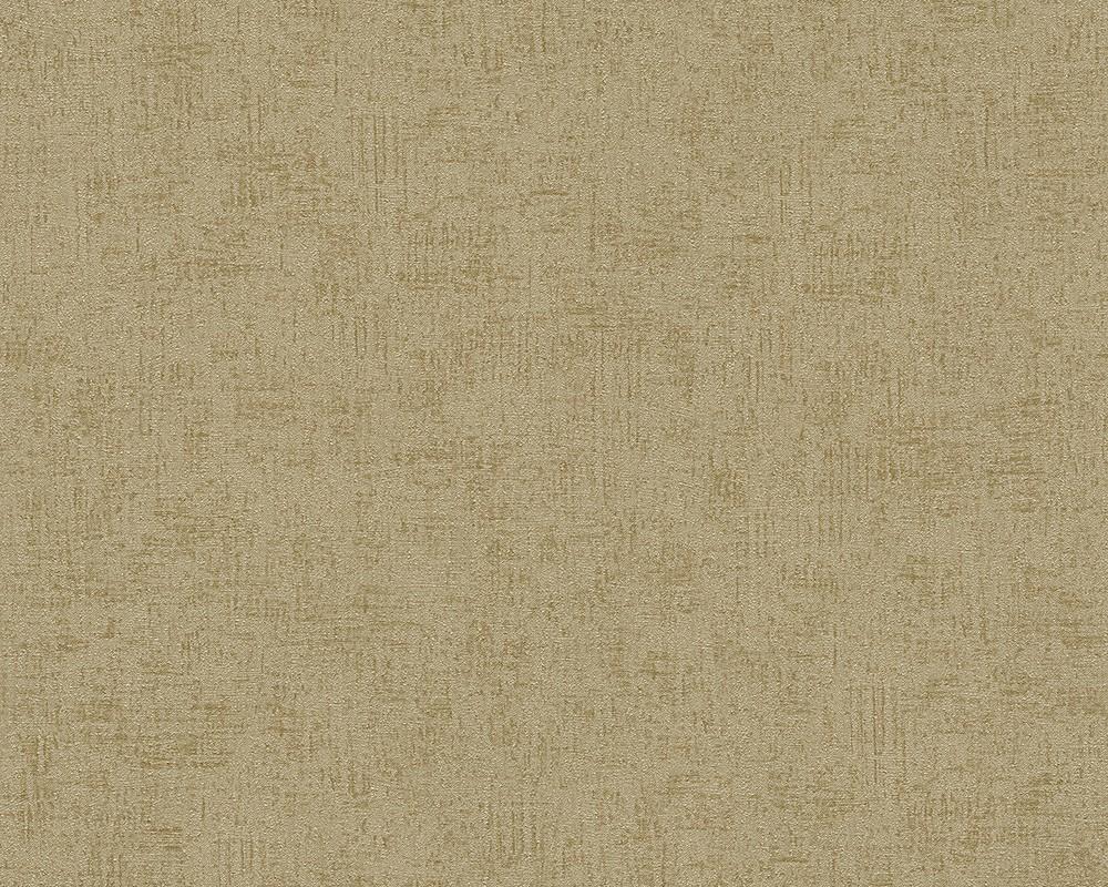 Wallpaper gold plain titanium livingwalls 30646 6 for Graue tapete