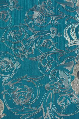 Tapete barock blau die neuesten innenarchitekturideen for Blaue tapete
