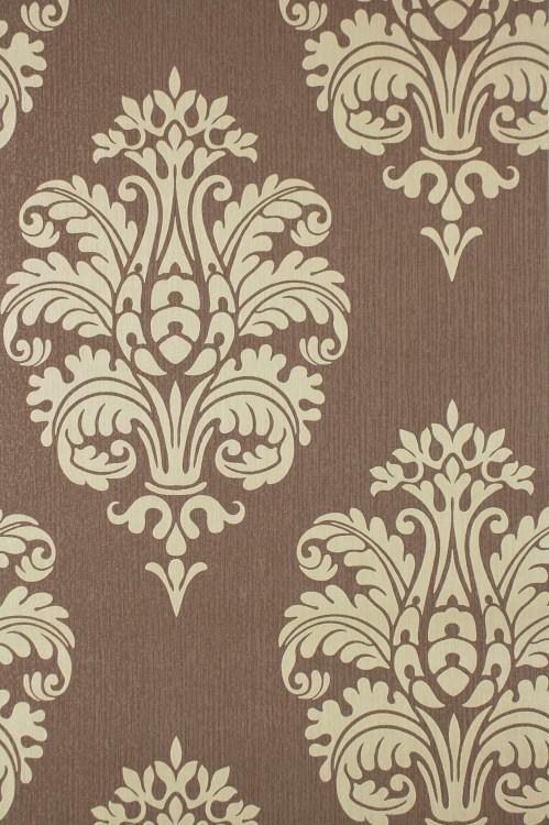 Vliestapete rasch barock luxus braun beige 740905 - Tapete braun beige ...