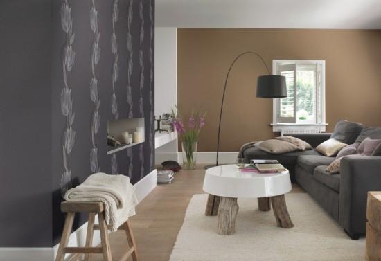 tapete rasch seduction 796292 uni caramel. Black Bedroom Furniture Sets. Home Design Ideas