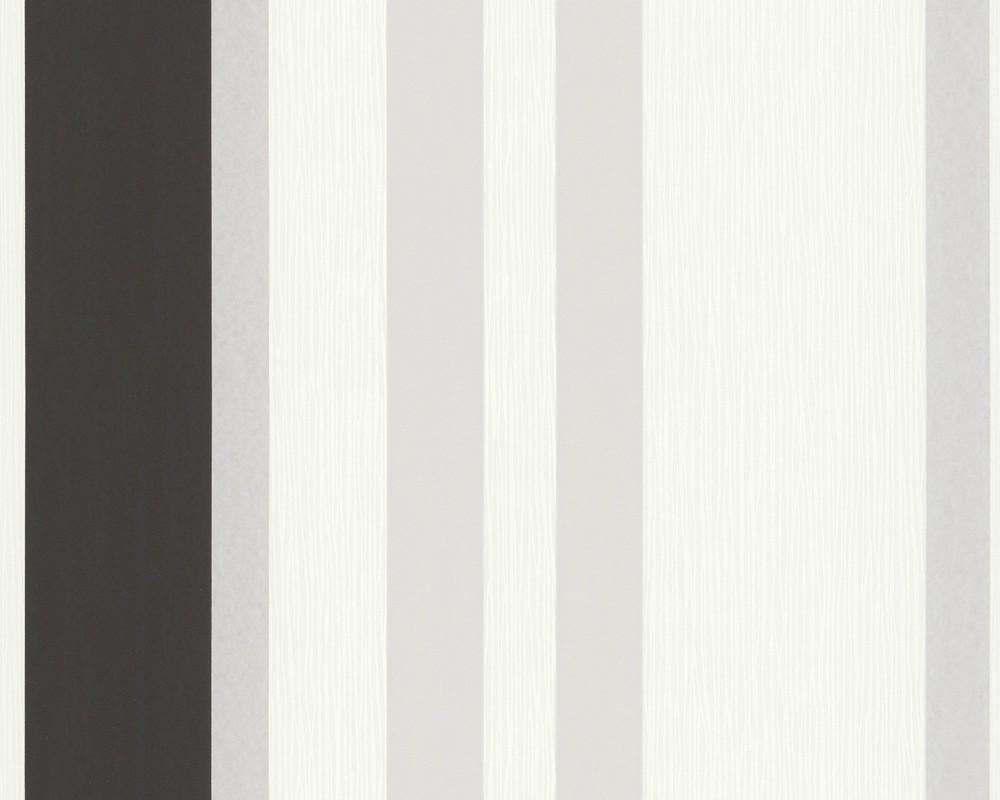 Jette Joop Tapete Streifen : Anthracite Wallpaper