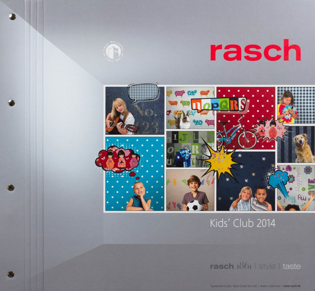 tapete rasch kids 39 club 2014 469028 uni gelb. Black Bedroom Furniture Sets. Home Design Ideas