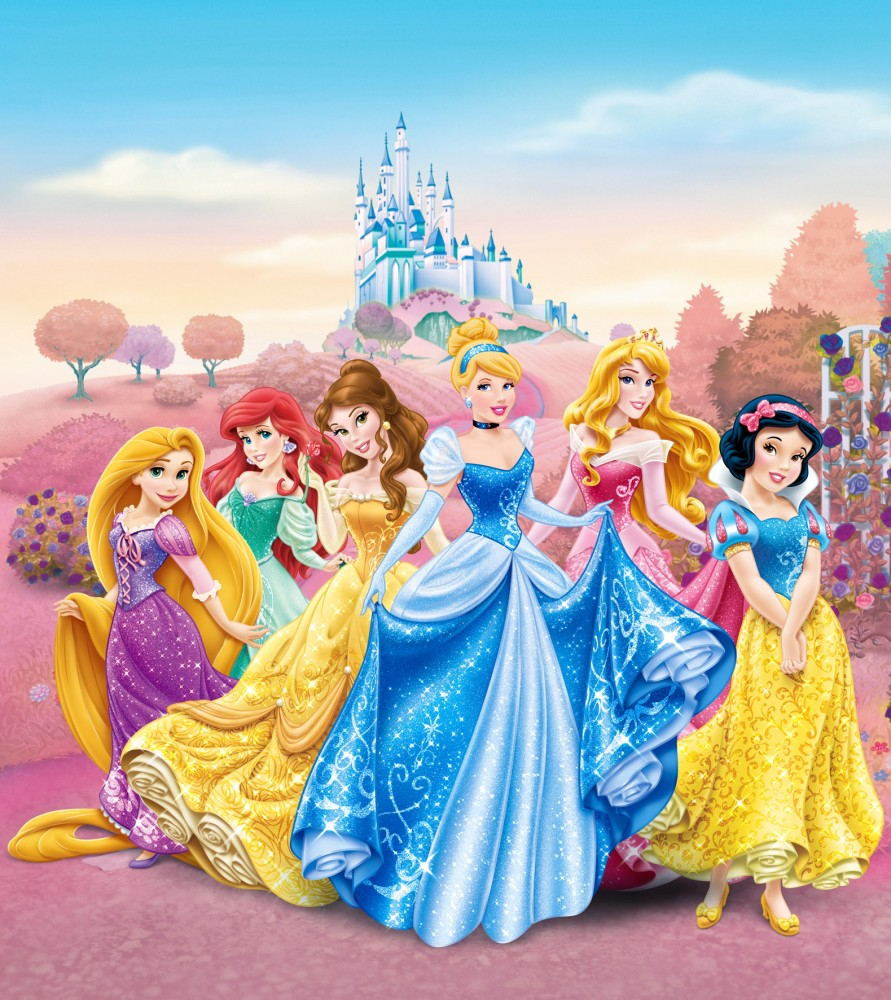Wall Mural Wallpaper Disney Princesses Princess Photo 180