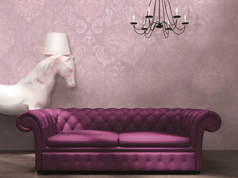 tapete memory vliestapete barock 95372 2 953722 flieder glitzer. Black Bedroom Furniture Sets. Home Design Ideas