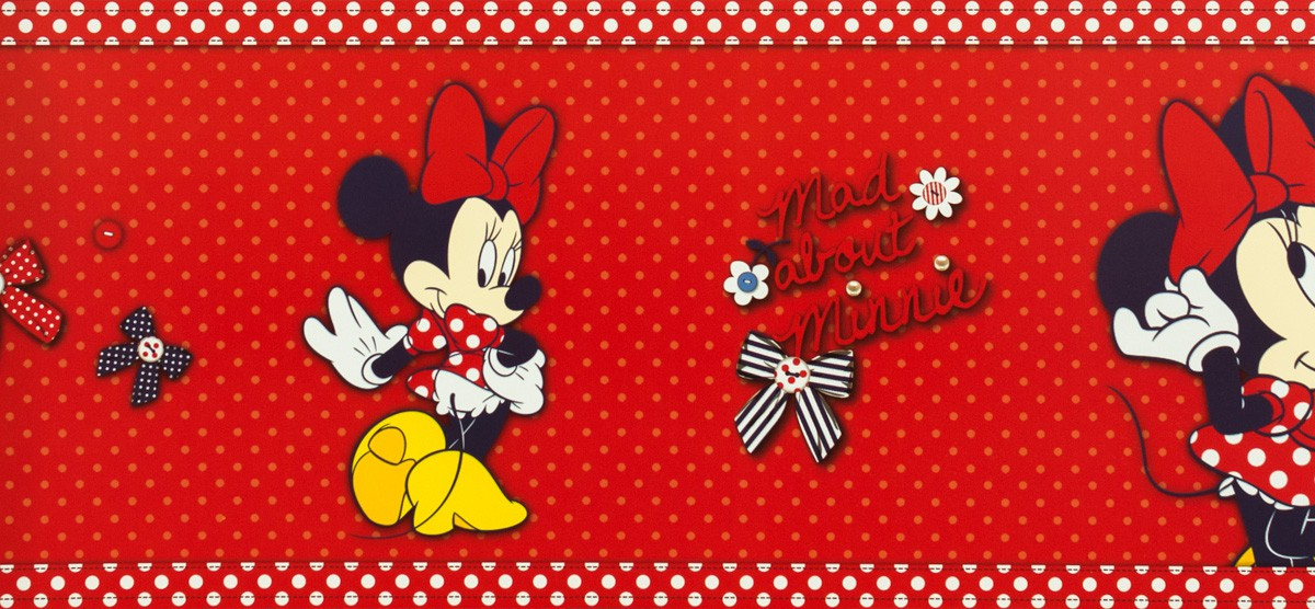 Kids Wallpaper Kids Home Border 70 033 70033 Minnie Mouse