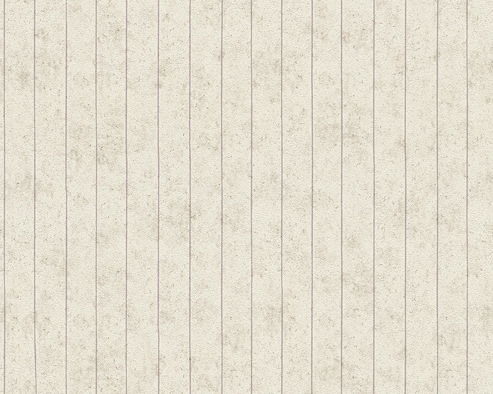Wallpaper vintage stripes cream beige livingwalls djooz for Vintage tapete