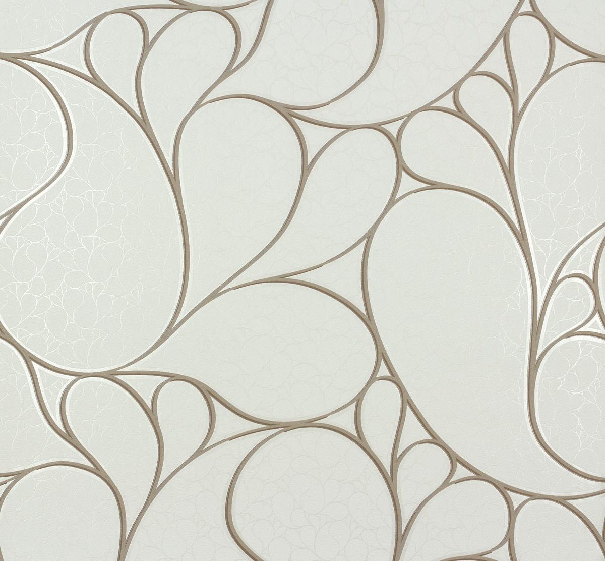 vliestapete marburg messina tapete 55425 design modern wei beige. Black Bedroom Furniture Sets. Home Design Ideas