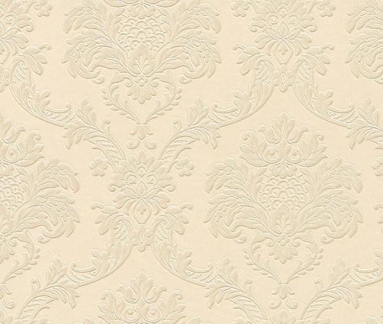 Dieter Bohlen Tapete Glitter : Trianon Neo baroque retro VINYL wallpaper beige 505320